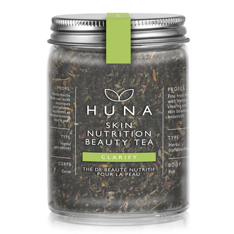 Huna Clarify Skin Nutrition Beauty Tea Herbal Tea Organic Made in Canada Caffeine Free