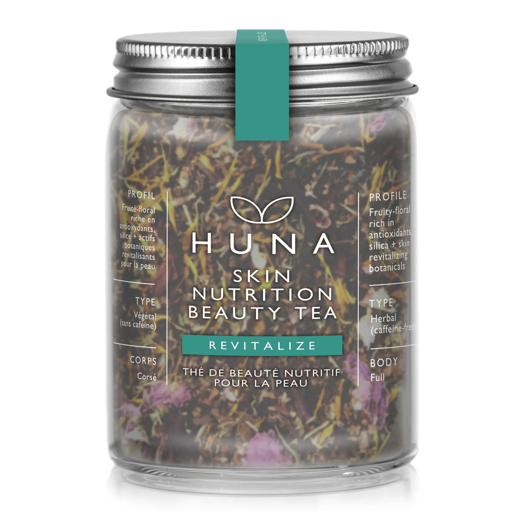 Huna Skin Nutrition Beauty Tea Revitalize Skin Care Herbal Tea Organic Tea Made in Canada