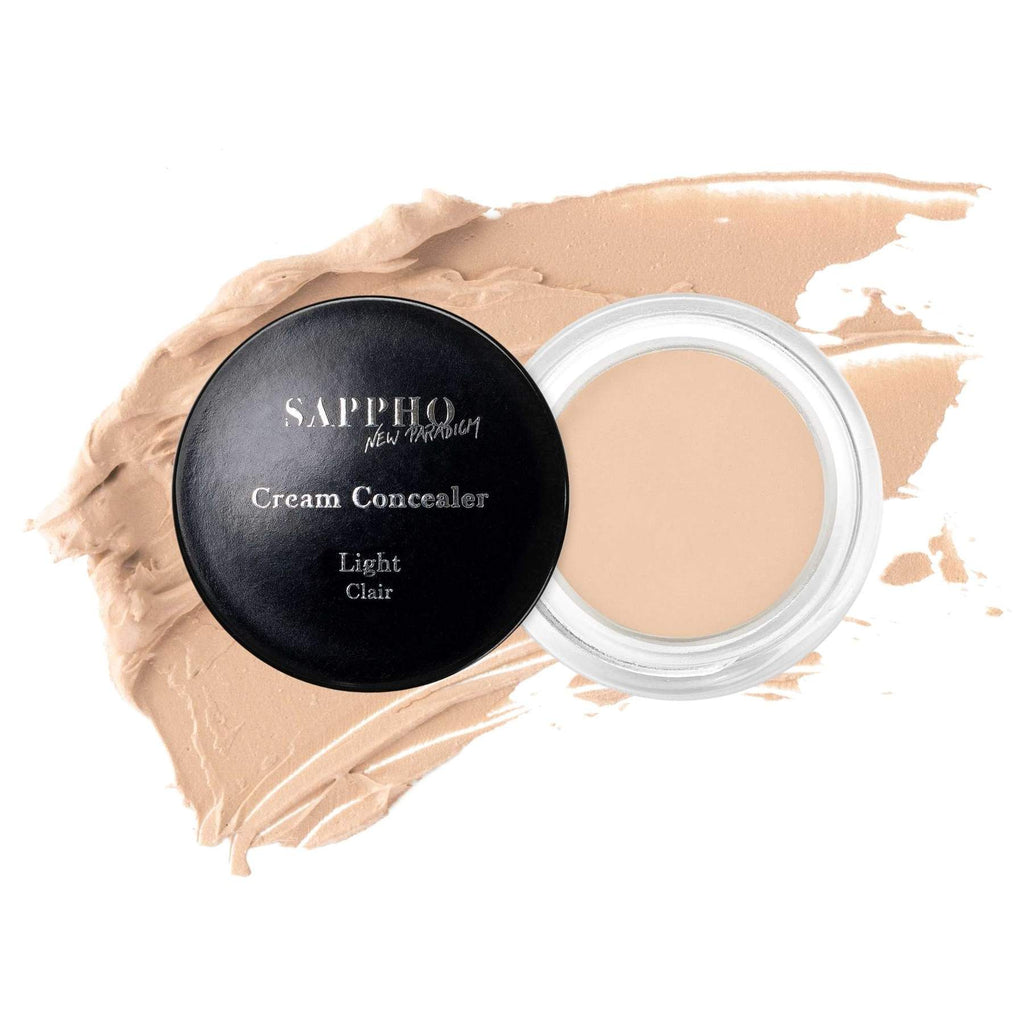 SAPPHO - Cream Concealer - Light - natural, made in canada, clean cosmetics, vegan cosmetic