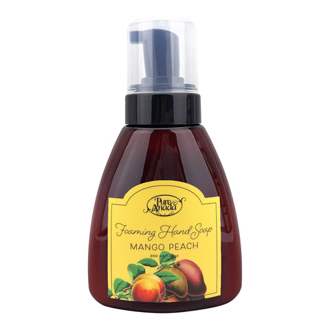 Pure Anada - Foaming Hand Soap - Mango Peach All Natural, Cruelty Free, Made in Canada