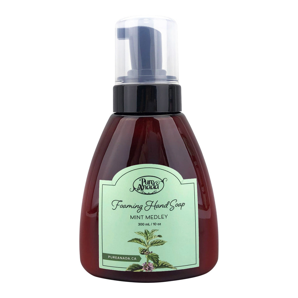 Pure Anada - Foaming Hand Soap - Mint Medley All Natural, Cruelty Free, Made in Canada