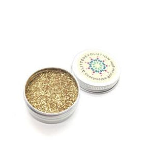Glitterevolution - Guilt-Free Biodegradable Glitter in Pure Gold