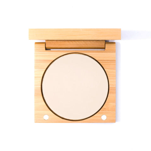 Elate Cosmetics - Pressed Foundation Shade PN1 in Bamboo Compact