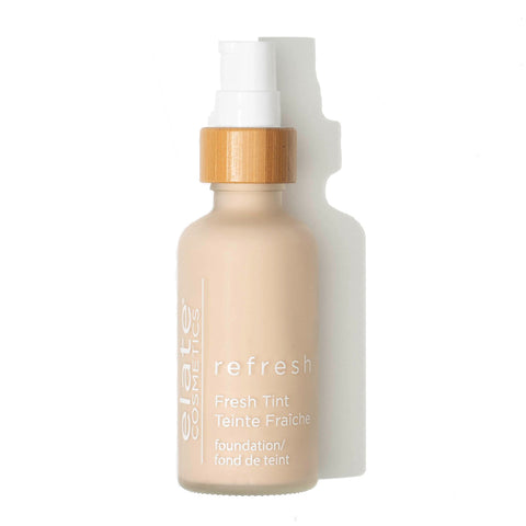 Elate Cosmetics - Refresh Foundation RN1 in bottle, zero waste packaging cruelty free natural made in canada