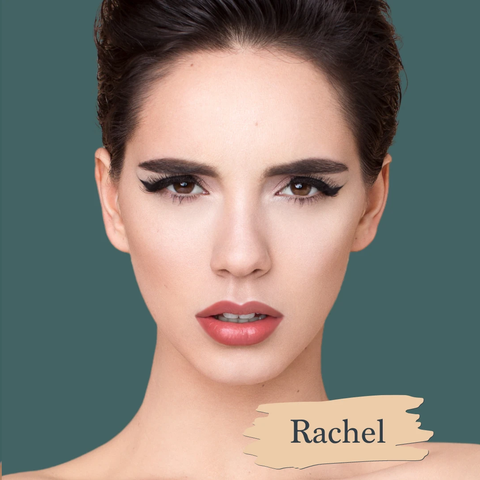 SAPPHO - Essential Foundation - Rachel: Light with a slight yellow undertone , clean foundations, natural, cruelty-free, made in canada