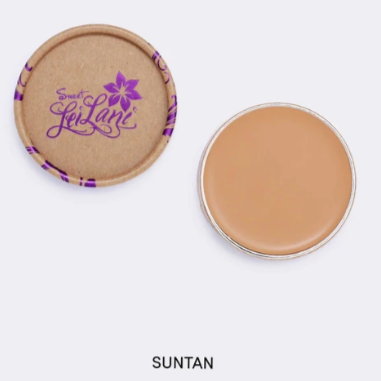 Sweet LeiLani Skin Care Cover Foundation Suntan All Natural Gluten Free Made in Canada, Cruelty Free Makeup