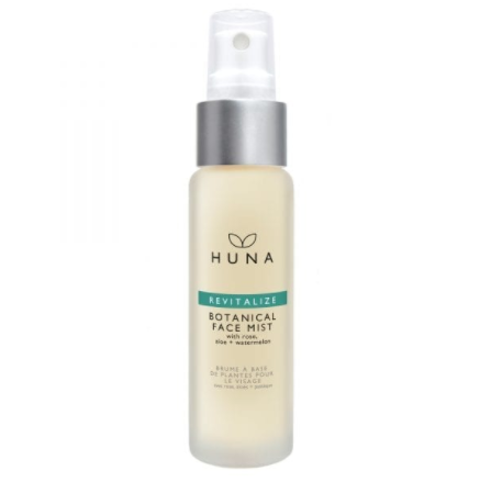 Huna Revitalize Botanical Face Mist all natural, made in canada, clean, sutainable