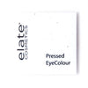 Elate Cosmetics - Pressed EyeColour Package in Seed Paper