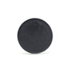 Elate Cosmetics - Create Pressed EyeColour in Stillness clean, natural, cruelty free, made in canada. Stillness is a matte black