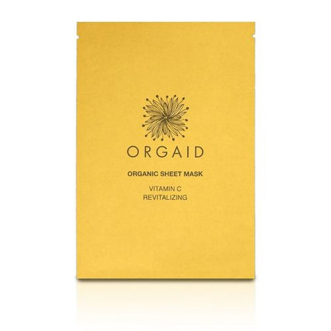 ORGAID Sheet Mask - Vitamin C & Revitalizing package front view