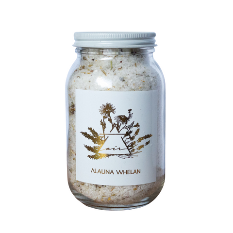 Alauna Whelan Handcrafted Luxury Goods - Bath Soak - Air made in canada, made in saskatchewan, natural, cruelty free, botanical body care