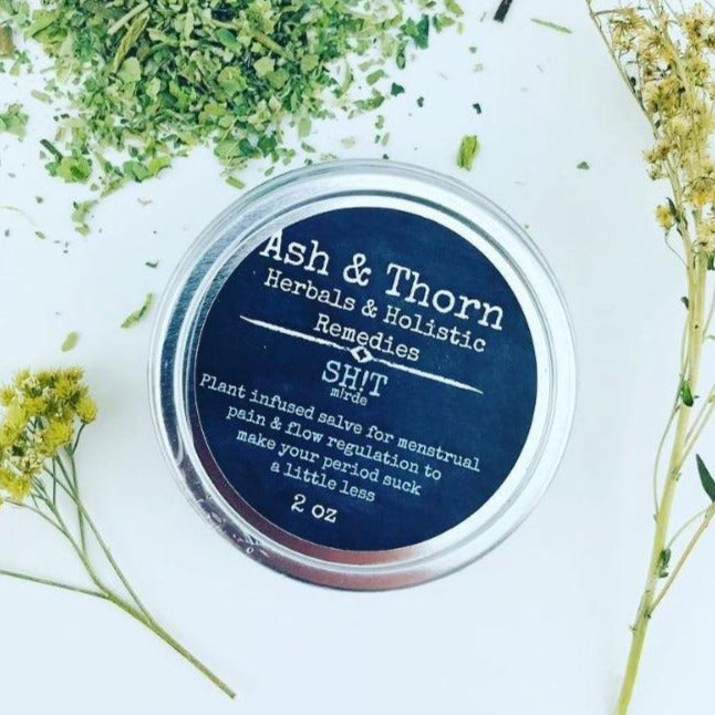 Ash & Thorn - Sh!t for Menstrual Pain and Flow Regulation Made in Canada