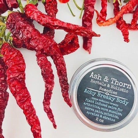 Ash & Thorn - Achy Breaky Body Salve, Made in Canada Herbal Remedie
