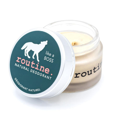 Routine - Natural Deodorant - Like a Boss Made in Canada Cruelty Free All natural