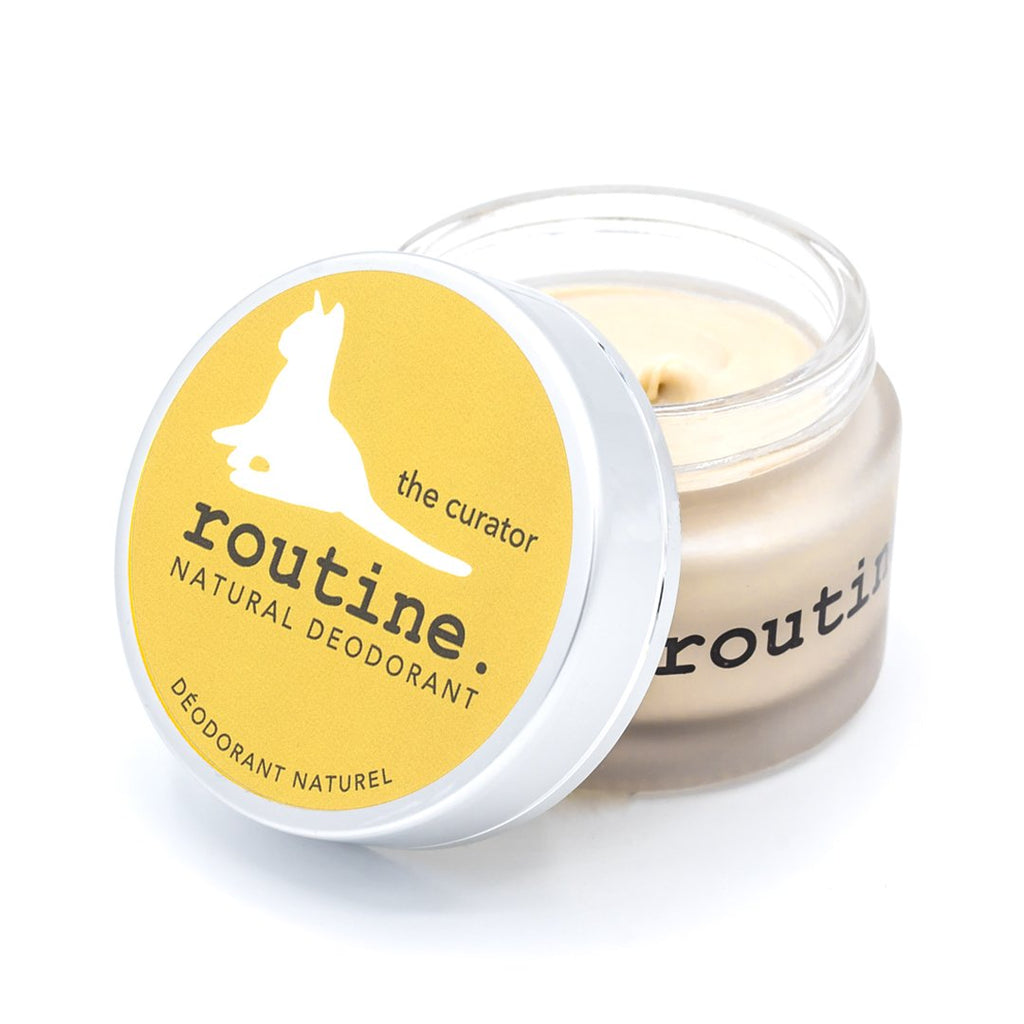 Routine - Natural Deodorant - The Curator, Clean, Cruelty free, Made in Canada