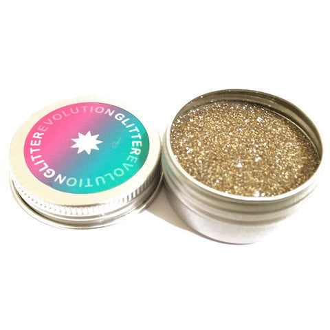 Glitterevolution - Guilt-Free Biodegradable Glitter in Gold Dust