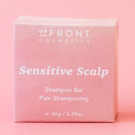 Upfront Cosmetics - Shampoo Bar - Soothing (Sensitive Scalp) made in canada, clean, natural, plastic free, cruelty free