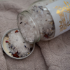 Alauna Whelan Handcrafted Luxury Goods - Bath Soak - Water made in canada made in saskatchewan open jar showing botanical body care