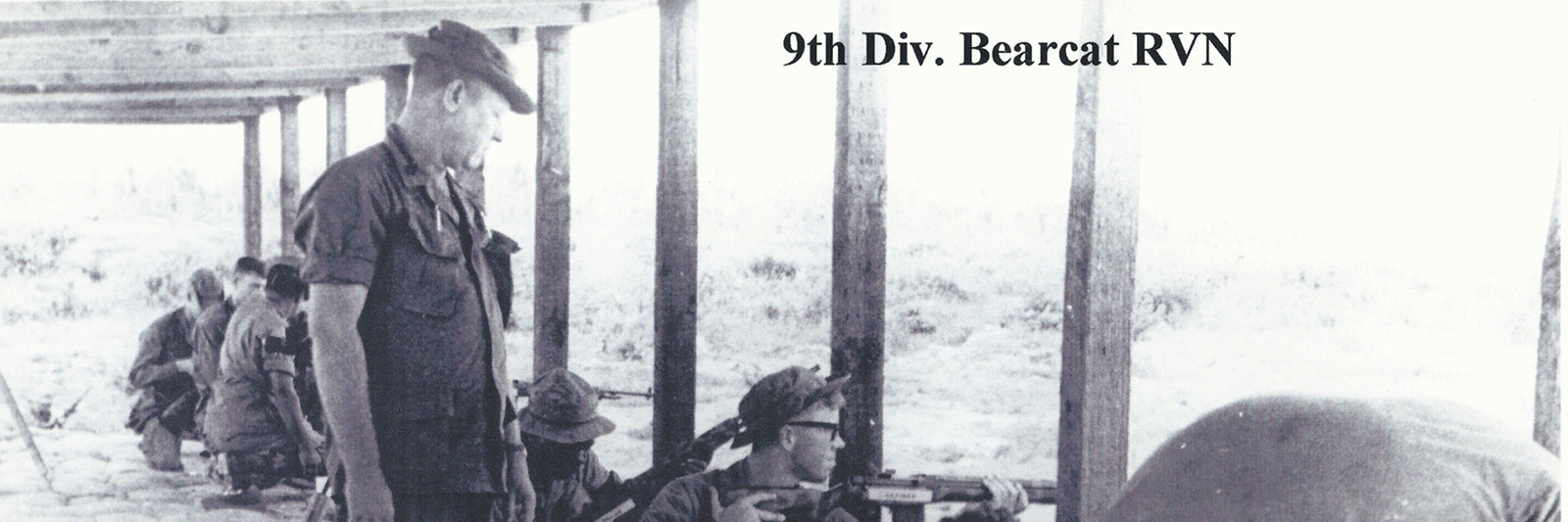 The 9th division training at the range