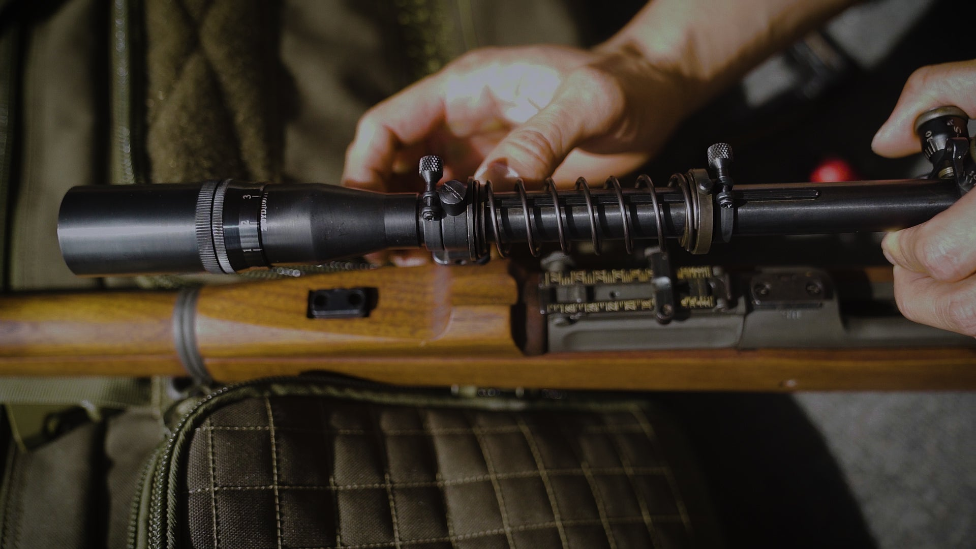 Removing the Spring on your Malcolm 8X USMC Scope