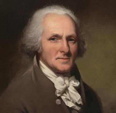 A portrait of Charles Willson Peale