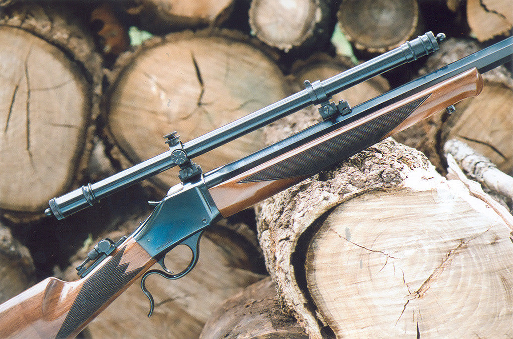Vintage Style Wm. Malcolm Scope & .45-70 Winchester High Wall Prove To Be Strong Medicine For South Dakota Buffalo!