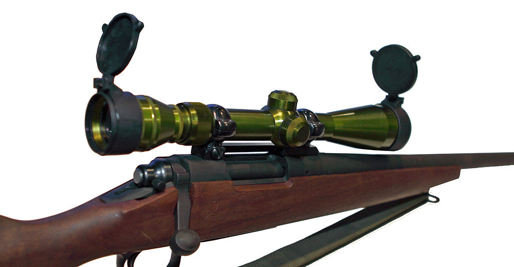The USMC M40 scope in classic green