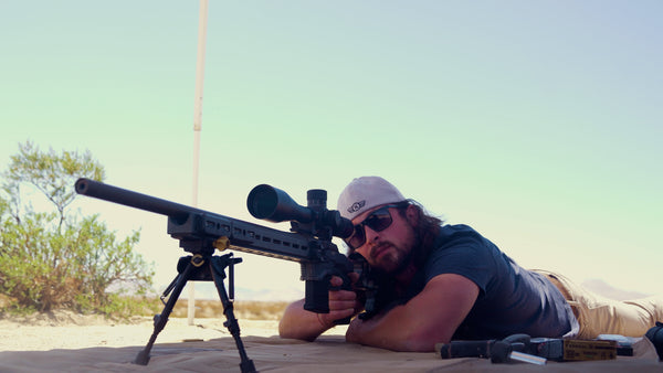 the .308 Winchester with 5-25 scope ready