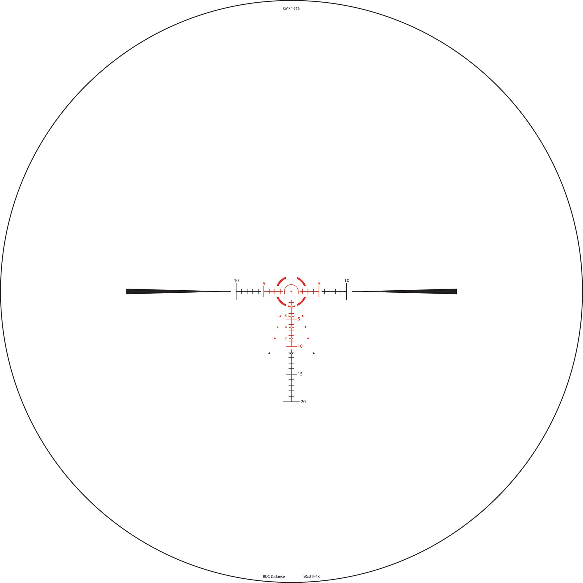 CMR4-556 SFP Reticle