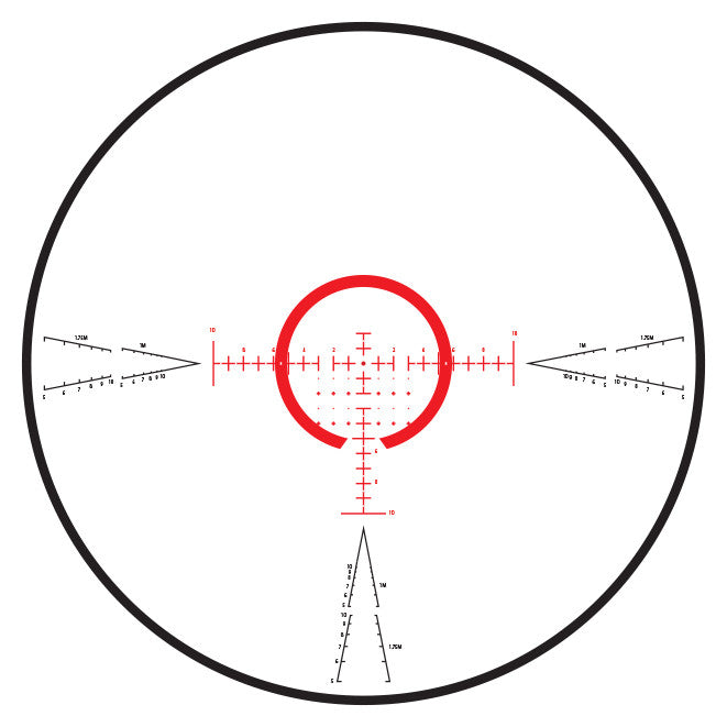 CW-4 FFP 8X Reticle View