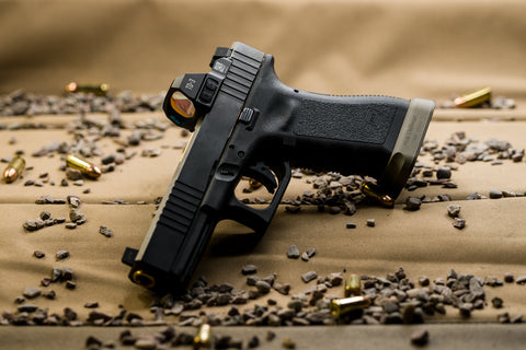 The TD3 mounted on a glock