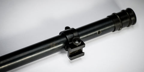 the front of the malcolm 6x scope with front ring and locking ring