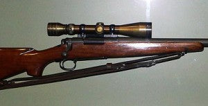 Chuck Mawhinney's Redfield M40 Green scope