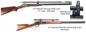 Model 1874 Hartford Sharps with Malcolm scope