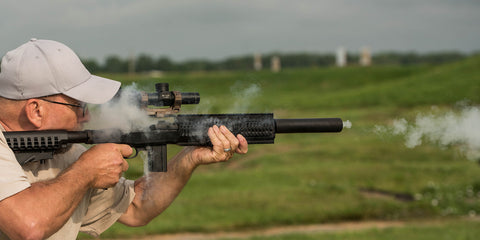 a compact CMR scope in tons of smoke