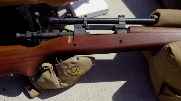 M73 scope mounted on a 1903A4