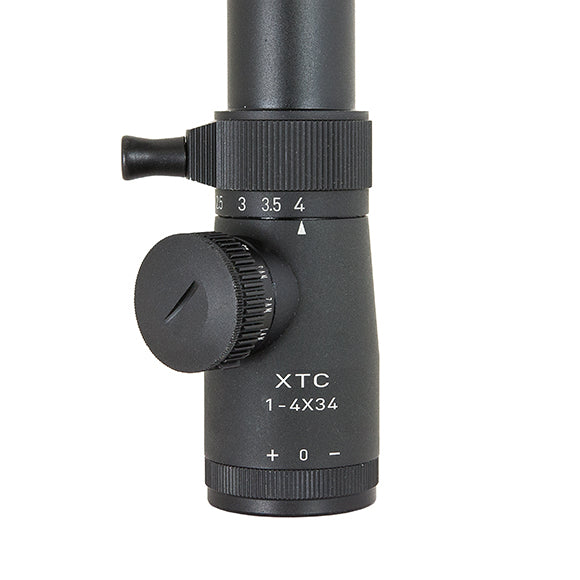 XTC Scope eyepiece with throw lever