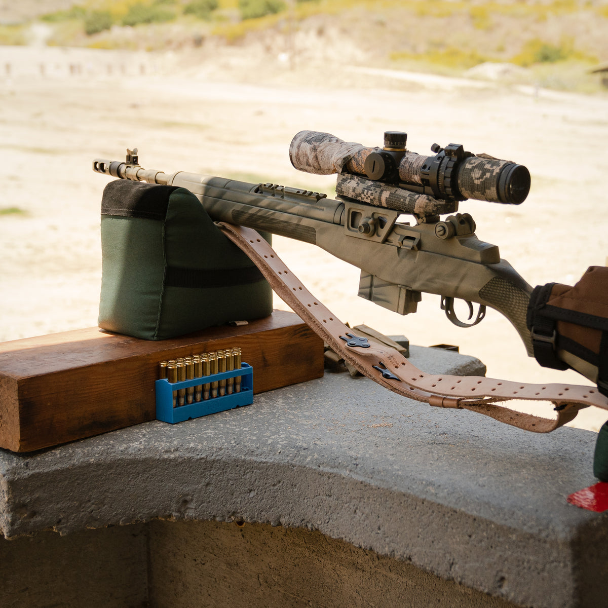 The ART scope on a classic M1A setup