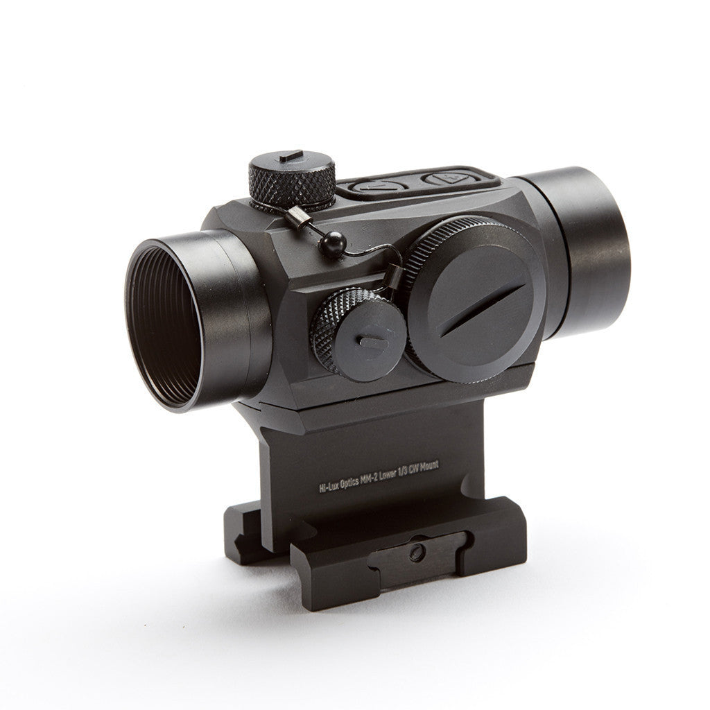 MM-2 red dot with lower 1/3 cowitness riser