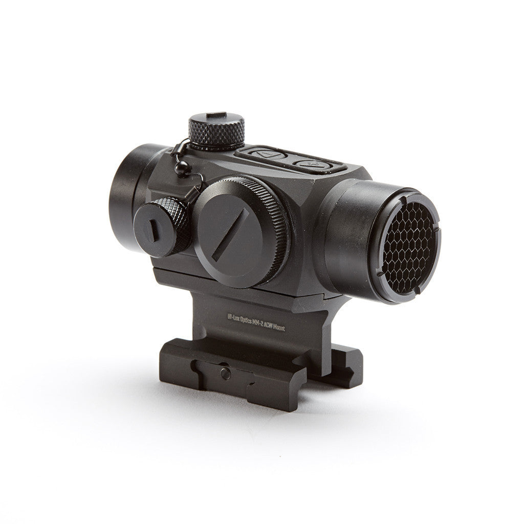 MM-2 red dot with absolute co-witness riser