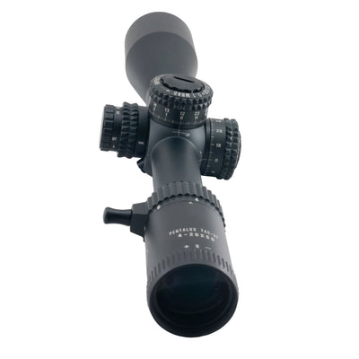 Scope eyepiece view