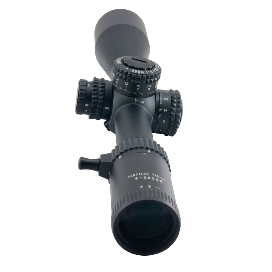 Hi-Lux PentaLux TAC-VF 4X-20X FFP Rifle Scope G2