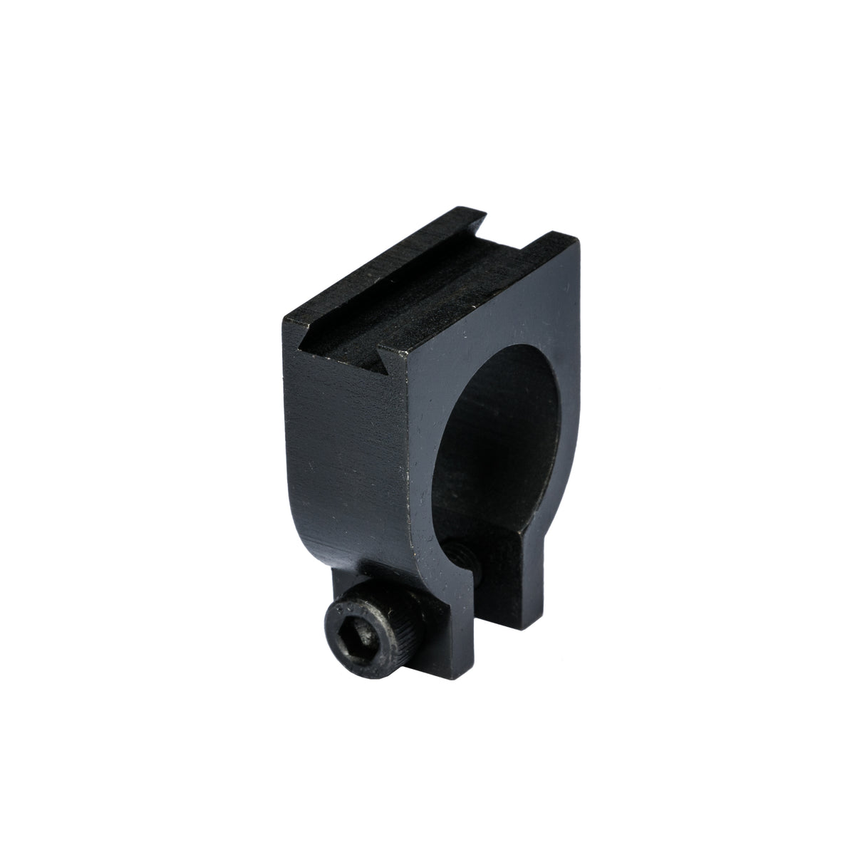 Round Barrel Offset mount - Barrel Clamp Ring with dovetail