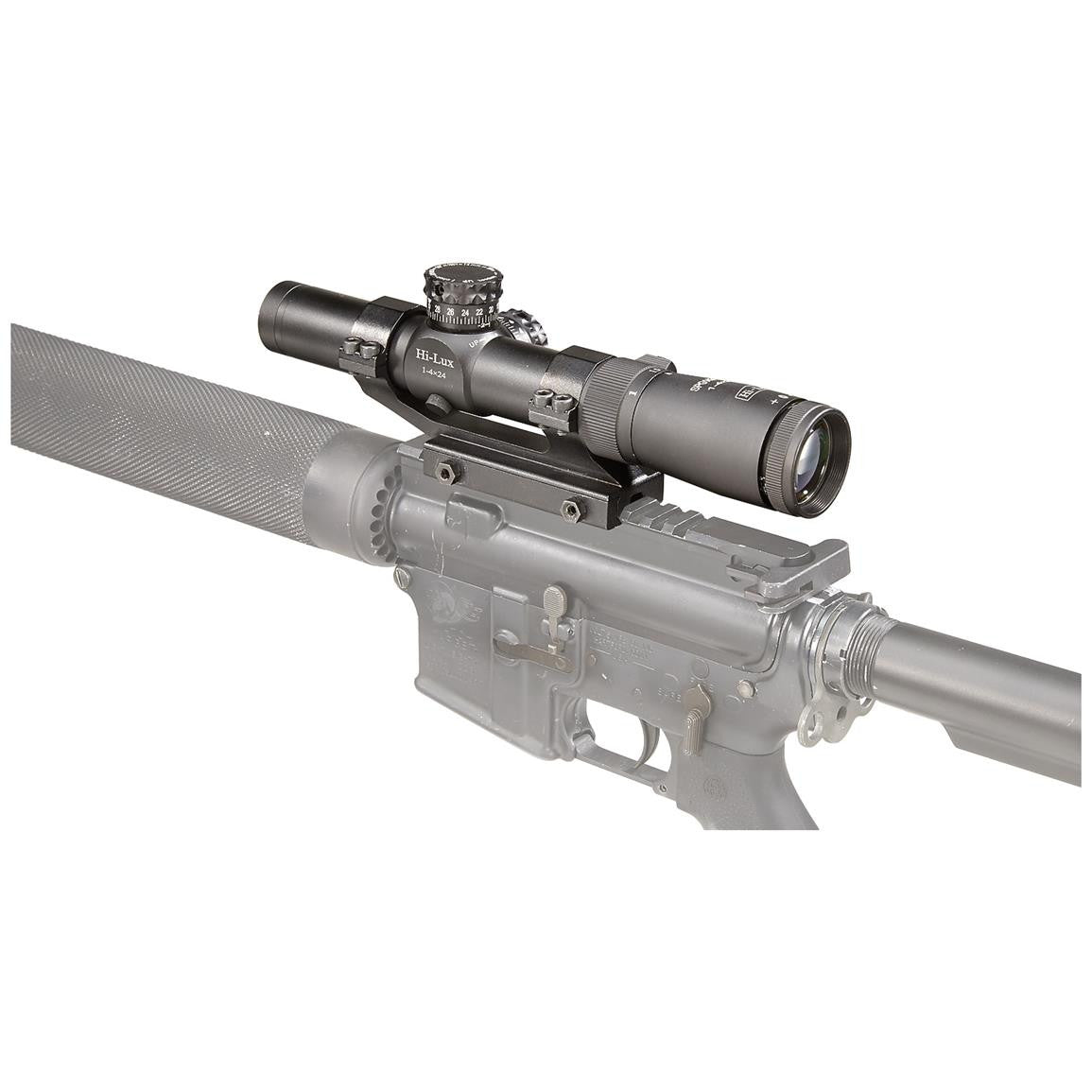SPG14X24 rear mounted scope