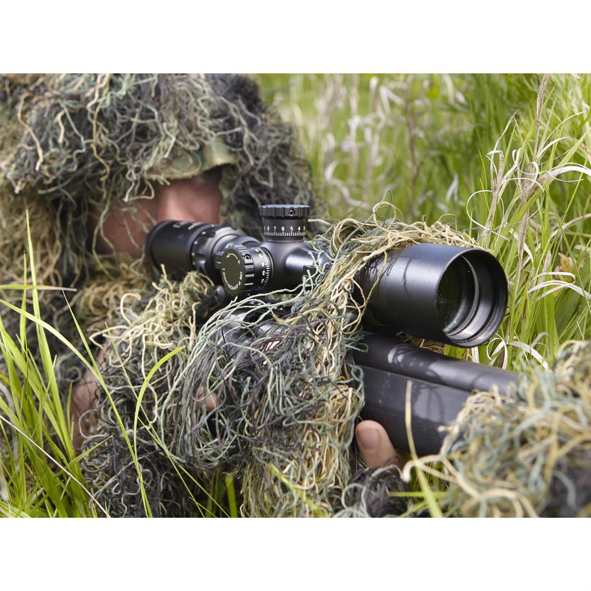 SPG416X44MD ghillie suit sniper