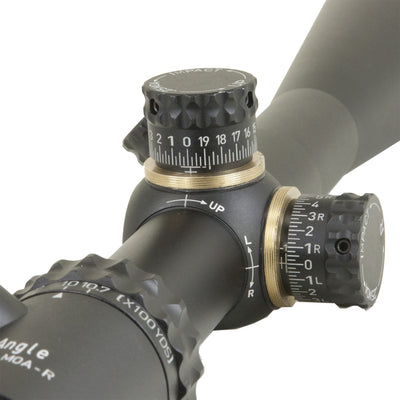 Top Angle 7-30X Rifle Scope Close Up Turrets