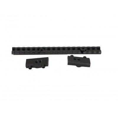 Ruger No.1 Rail Side View Unassembled