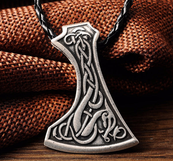Viking Age Mammen Axe Amulet Necklace