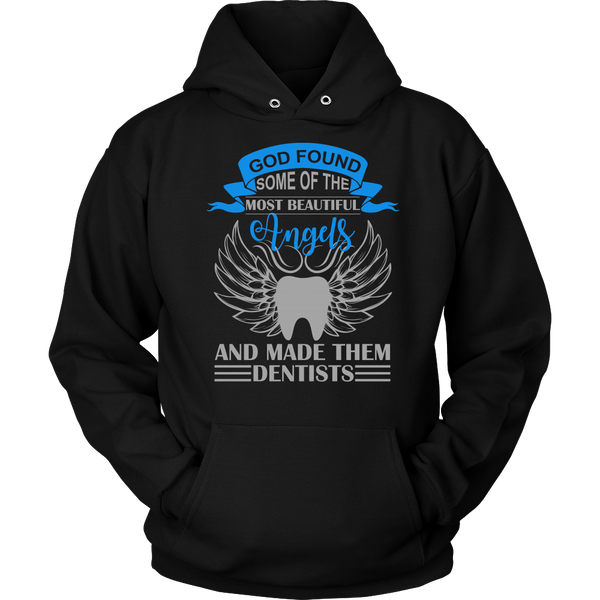 """God found some of the most beautiful Angels..."" Unisex Statement Hoodie"