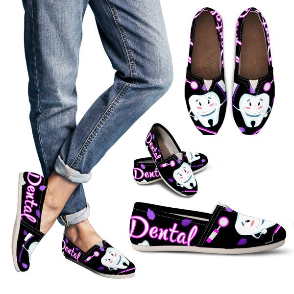 The Happy Teeth Women's Dental Casual Shoes